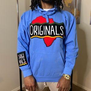 Blue Originals Hoodie By Support Black Colleges